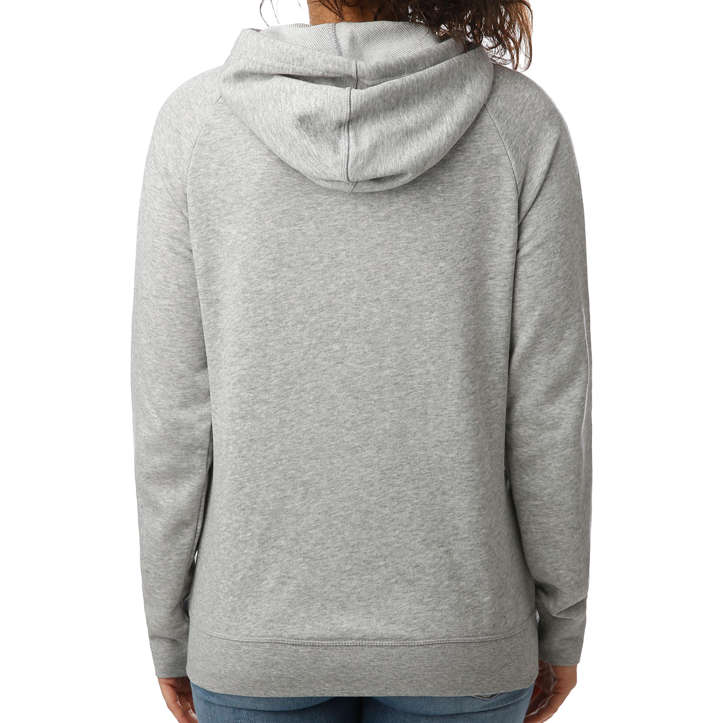Reebok Elements Sweatjacke Damen Hellgrau, Weiß online