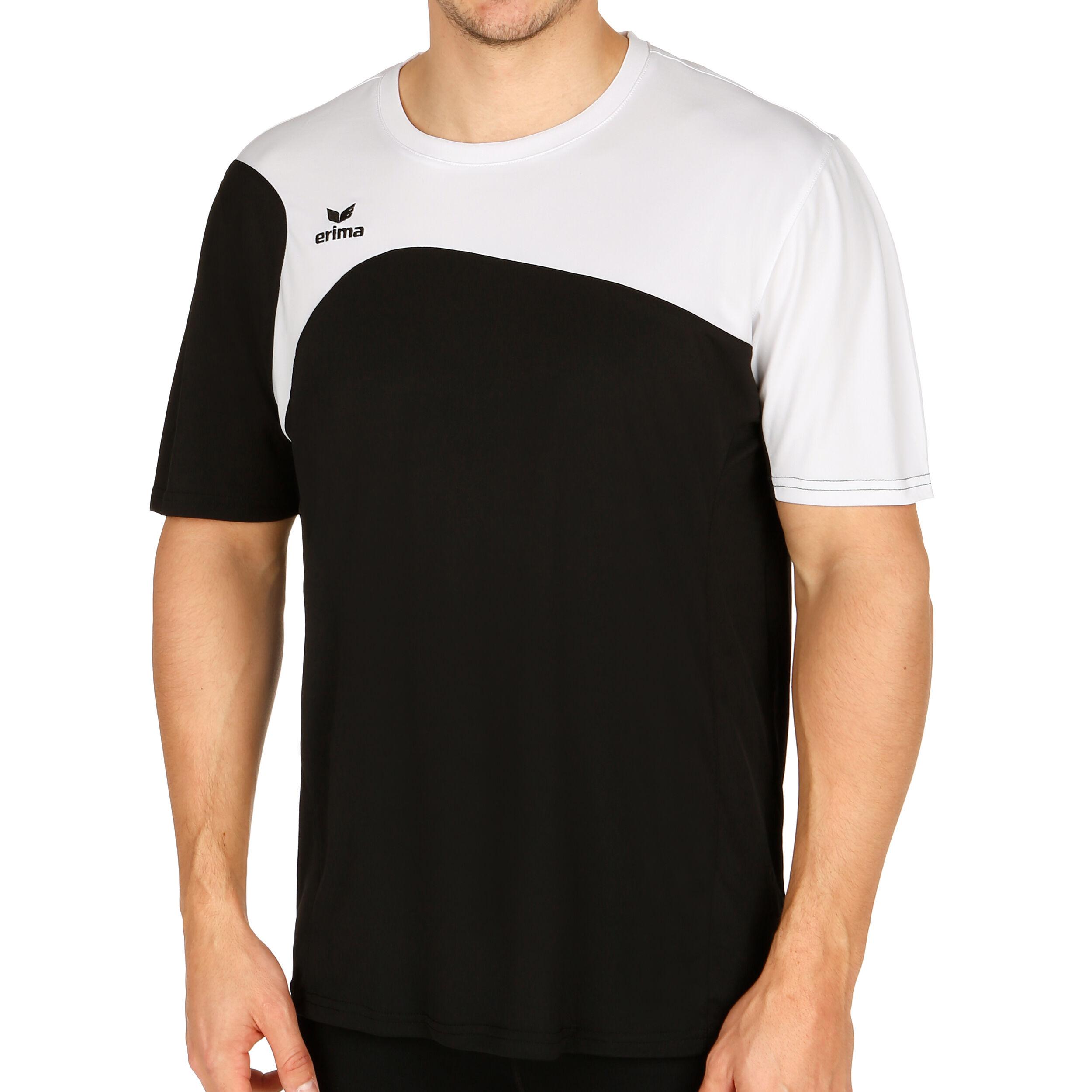 Erima Club 1900 T Shirt Herren Schwarz, Weiß online kaufen