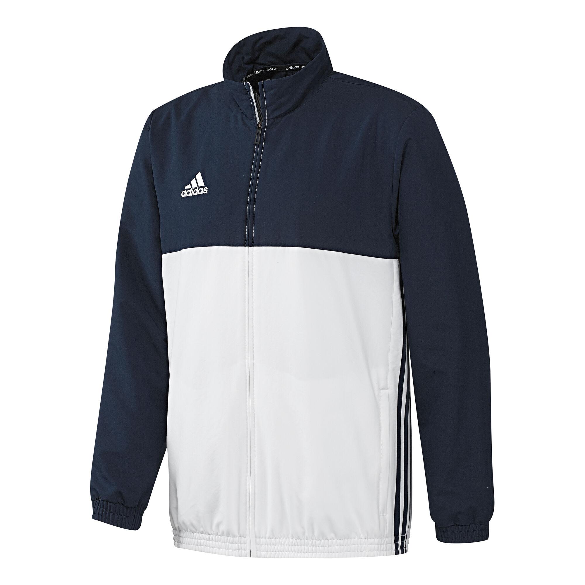 cheap for discount da1b1 f78b2 adidas T16 Team Jacket Trainingsjacke Herren - Dunkelblau ...