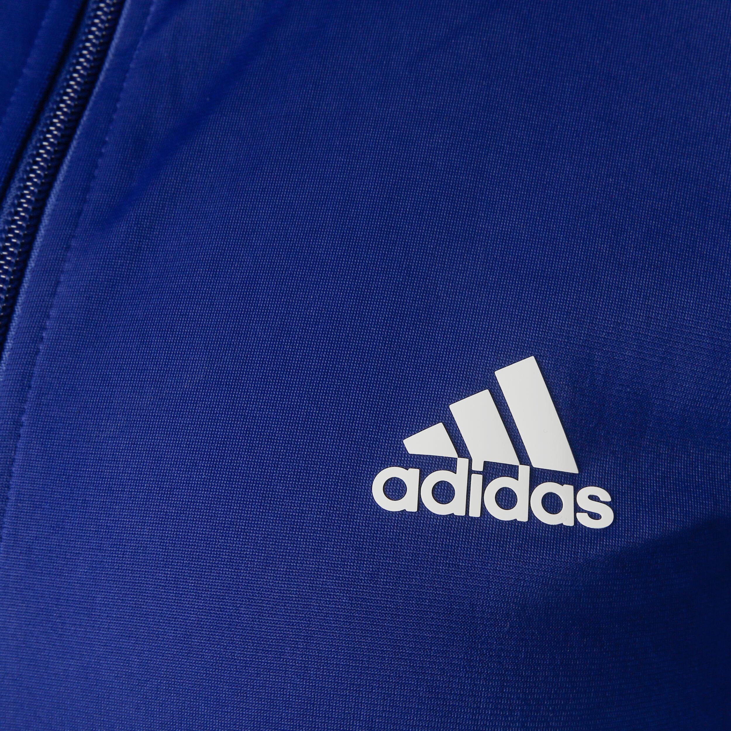 adidas Back2Basic 3 Stripes Trainingsanzug Damen Blau