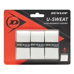 D TAC U-SWEAT OVERGRIP WHITE 3PCS