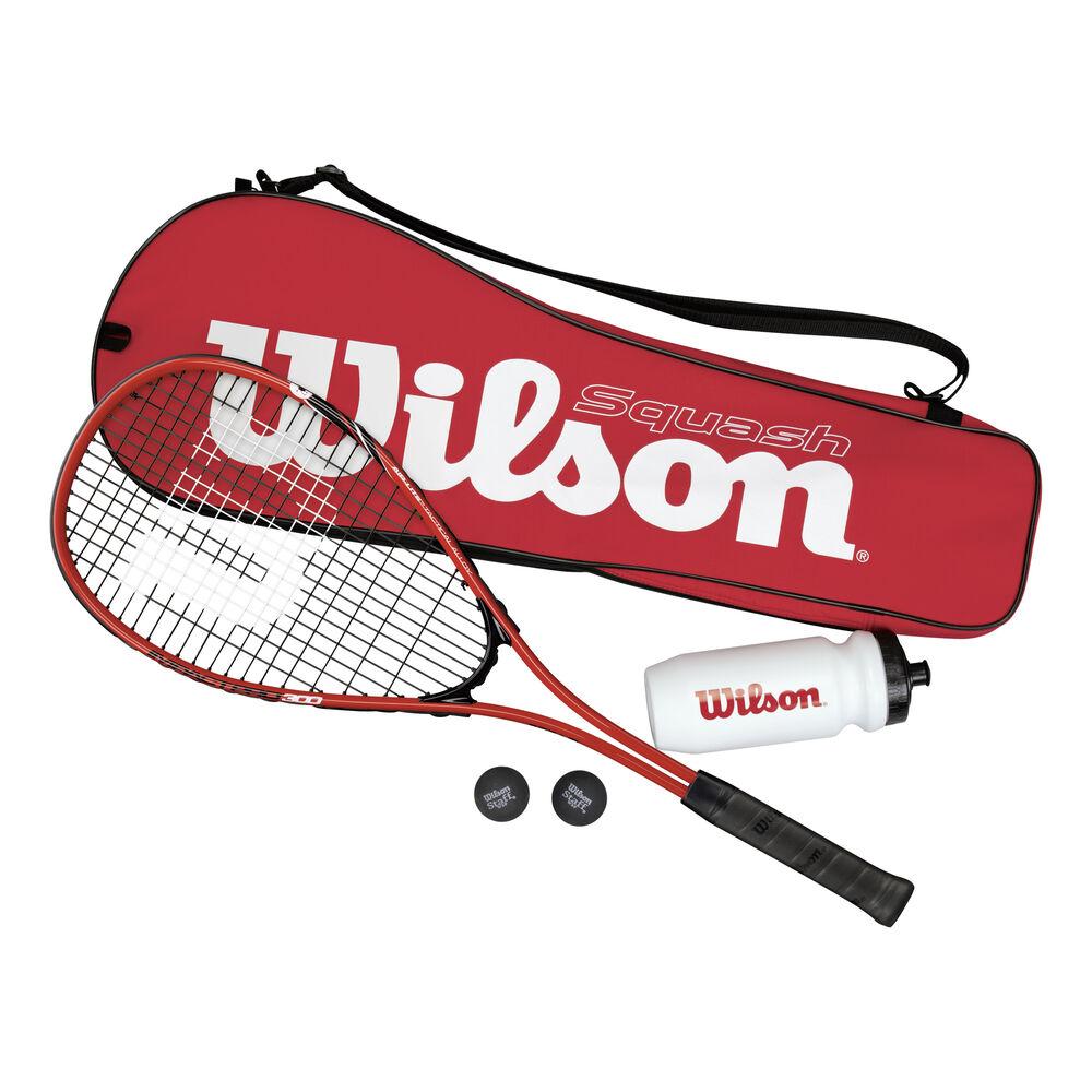 Wilson Squash Starter Set  plus weitere Produkte Squashschläger Größe: nosize
