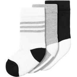 Little Kids Plain Crew Socks Junior (3er Pack)