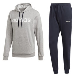 Cotton Hooded Tracksuit Men