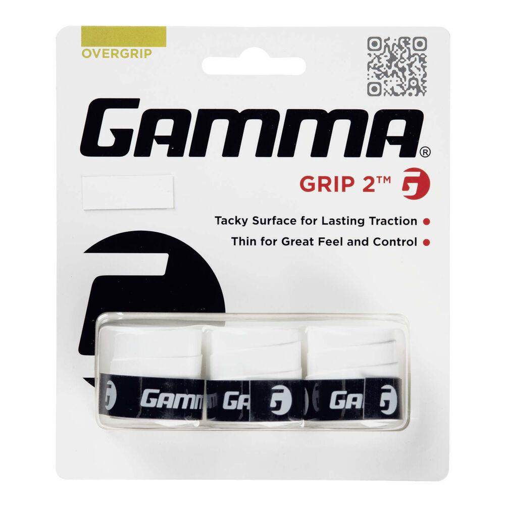 Gamma Grip 2 3er Pack Tennisovergrip Größe: nosize AGG2-wh