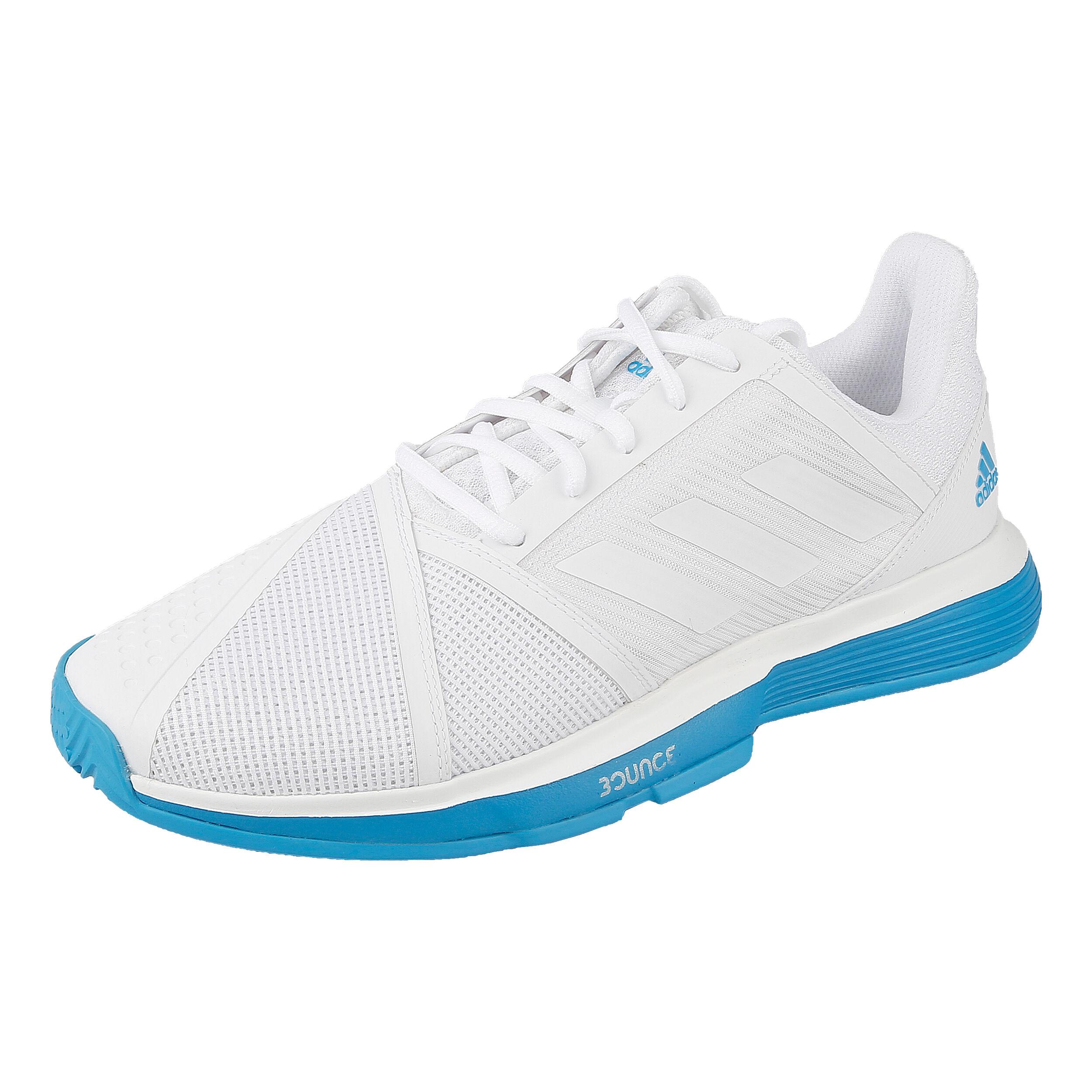 Herren Jam Adidas Bounce Allcourtschuh Court Online WeißBlau PXZkuiO