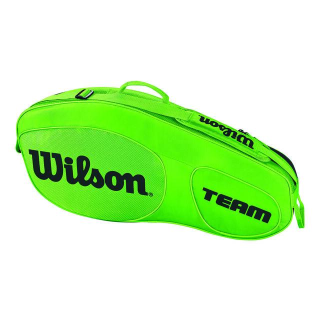 Team III 3er Racket Bag Green