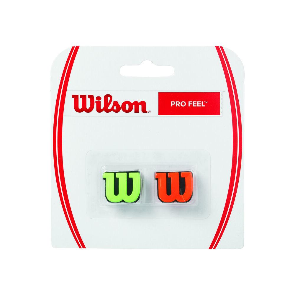 Wilson Pro Feel Blade, Burn Dämpfer 2er Pack Dämpfer Größe: nosize WRZ538700
