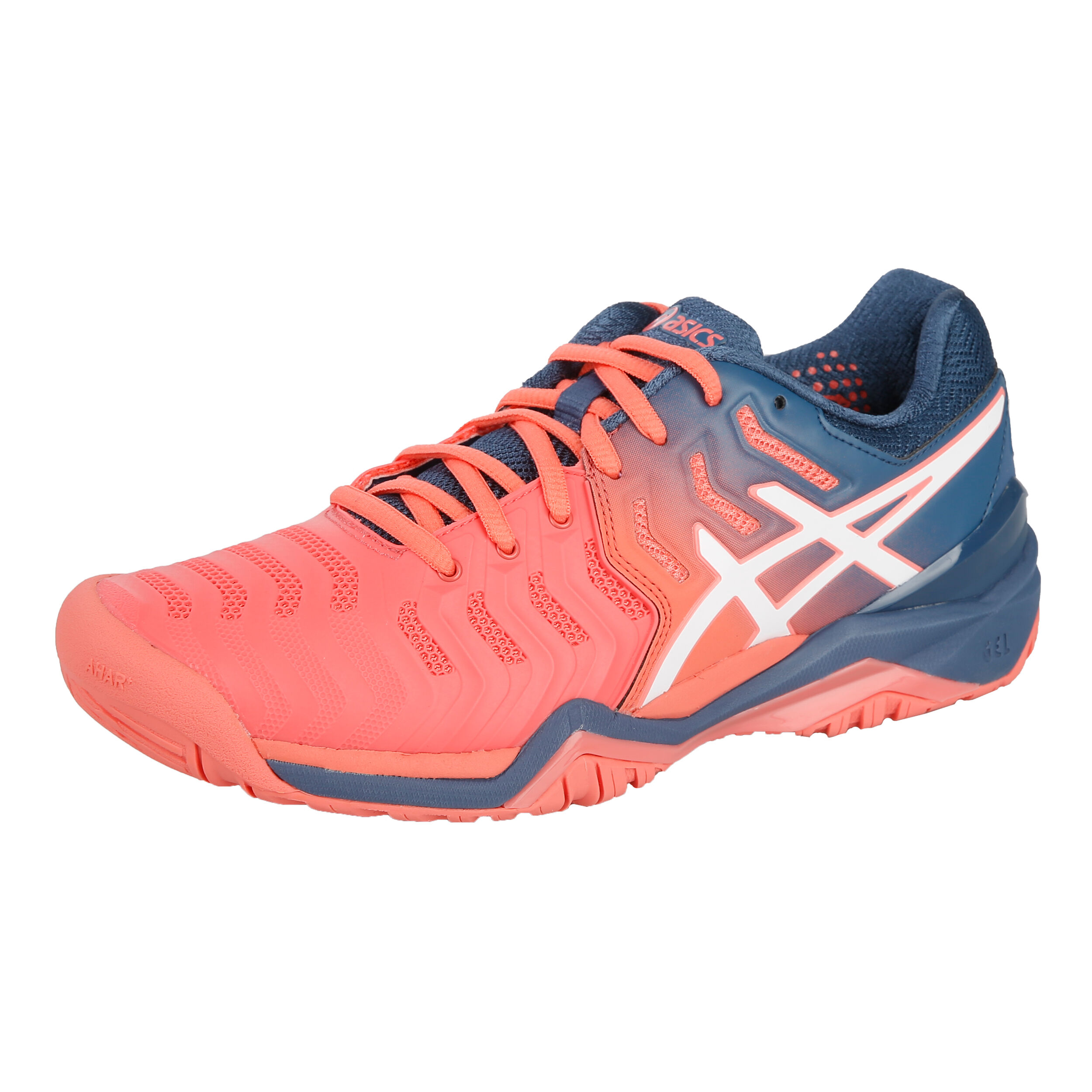 Asics Damen Gel-Resolution 7  Tennis Allcourtschuh Weiß EU NEU