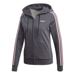 Essentials 3-Stripes Full-Zip Hoodie Women