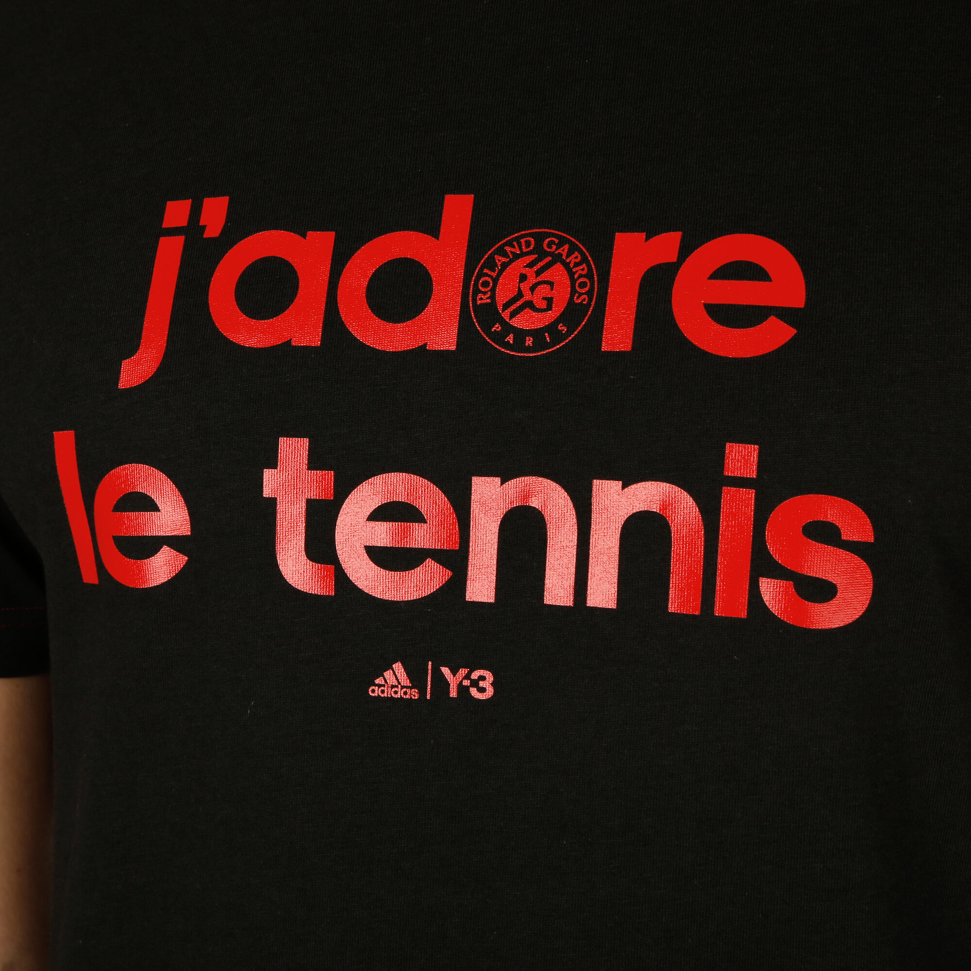 9e7d63d712aa7 adidas Roland Garros Y-3 Event T-Shirt Herren - Schwarz online ...