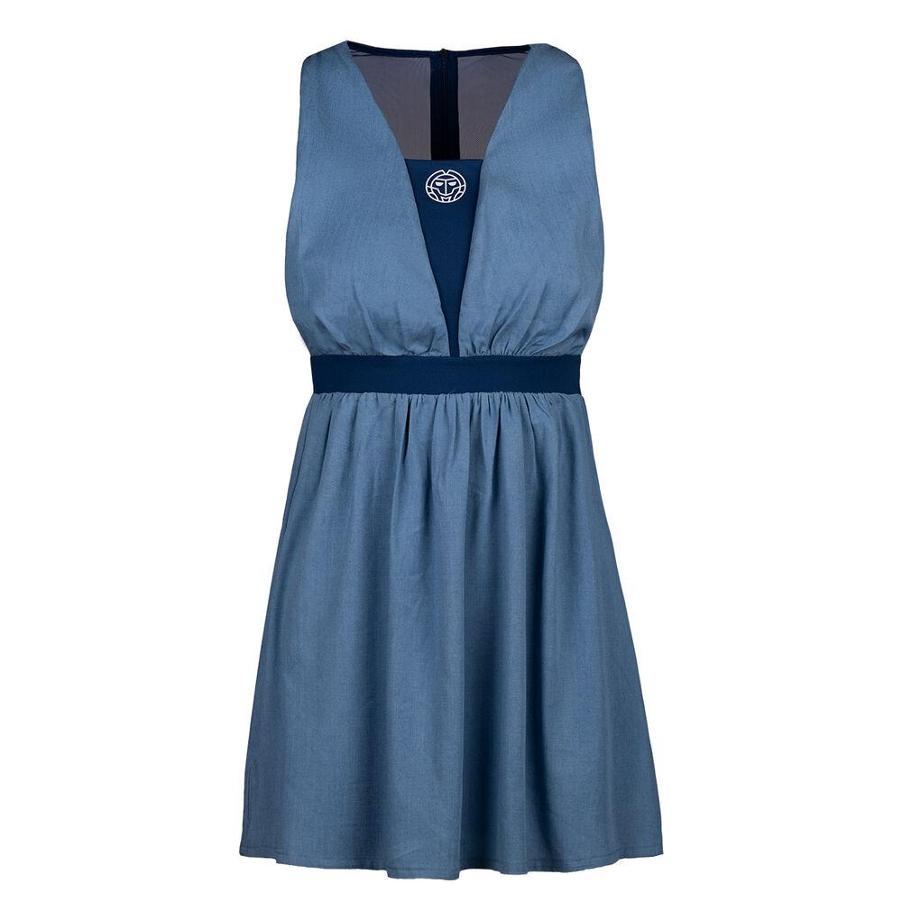 BIDI BADU Ankea Jeans Tech 2in1 Kleid Damen Kleid W214074211-JNSDBL