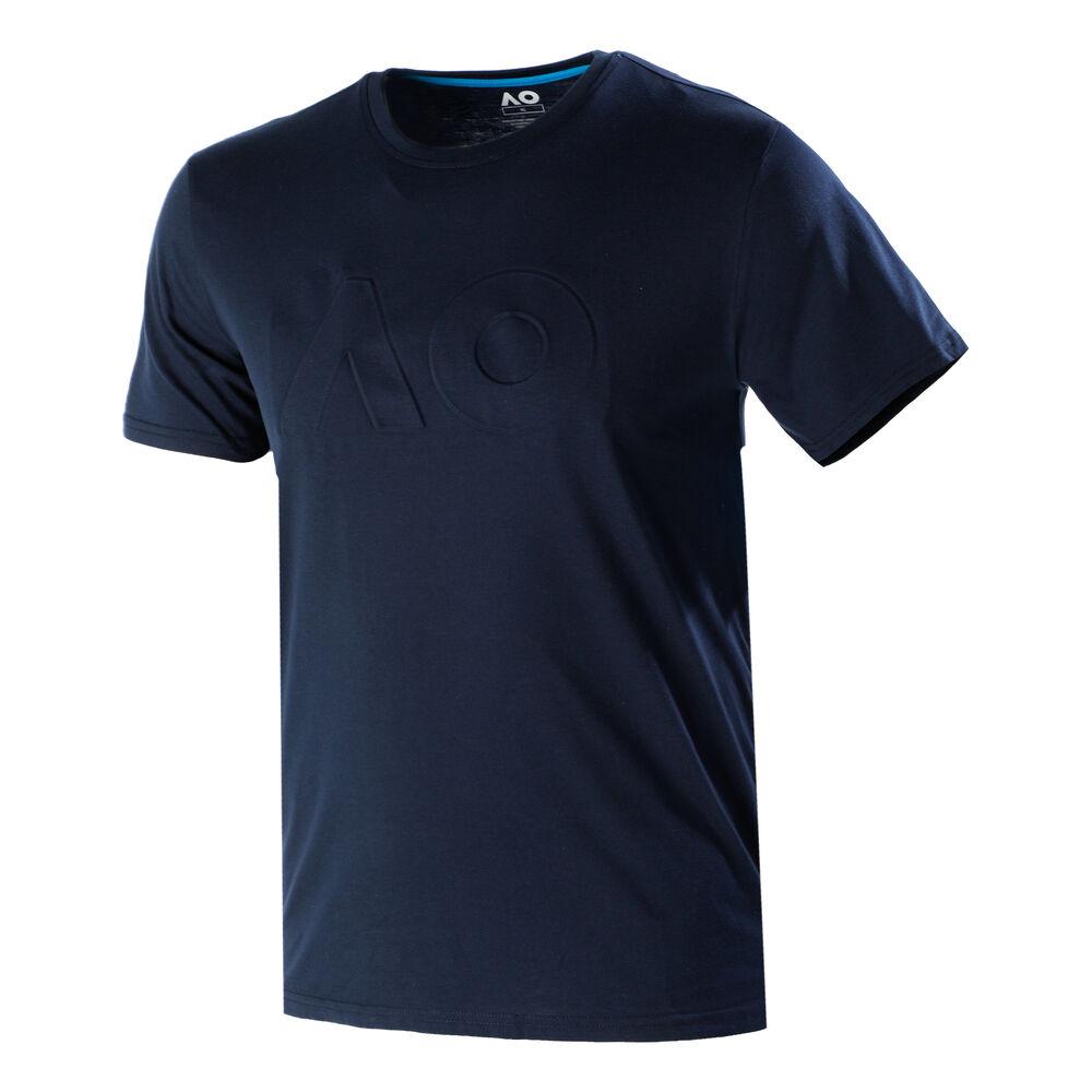 Australian Open 2021 Big Logo Herren T-Shirt DWAMT027-MARINE