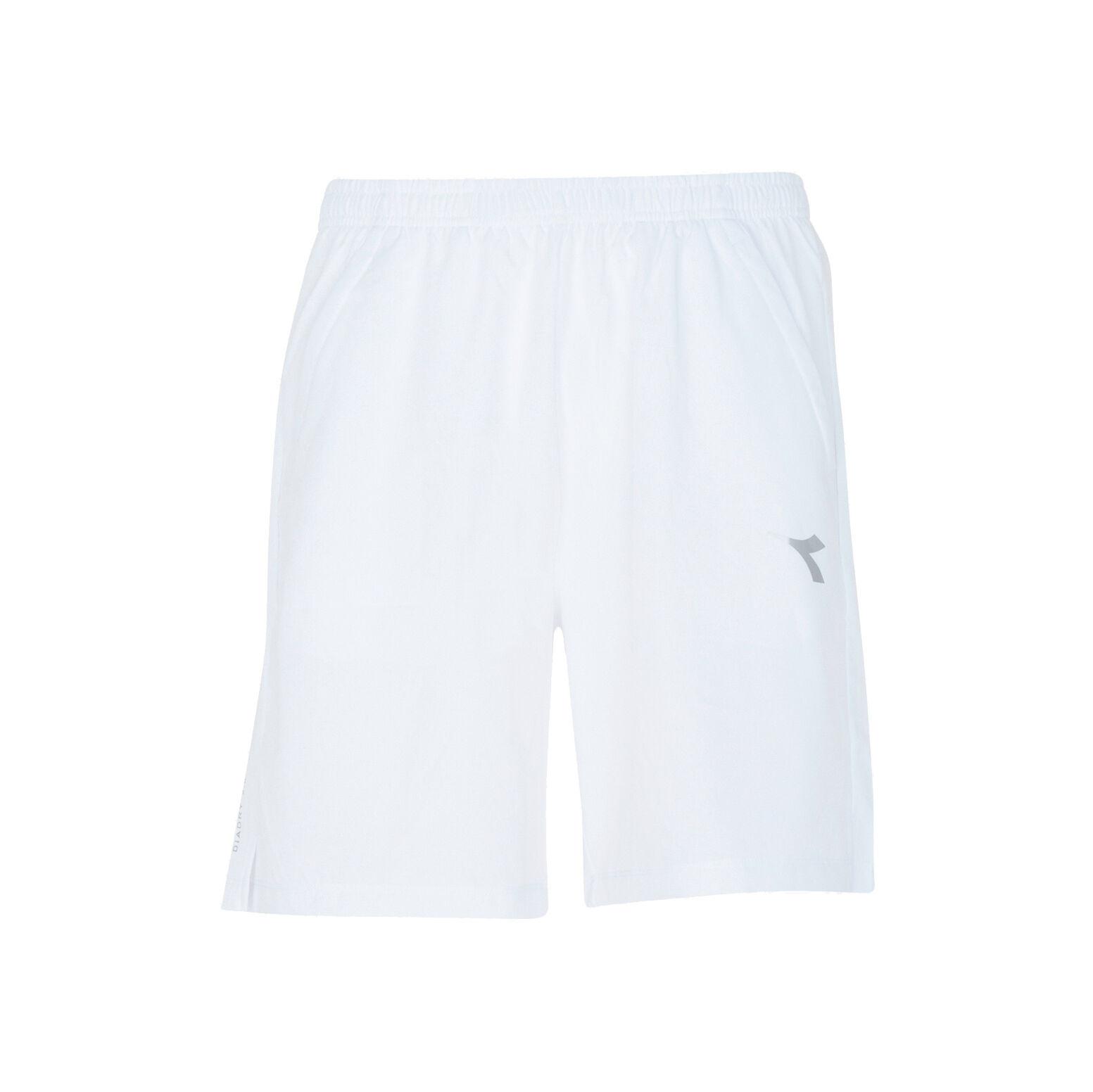 Diadora Court Shorts Herren Weiß, Hellgrau online kaufen