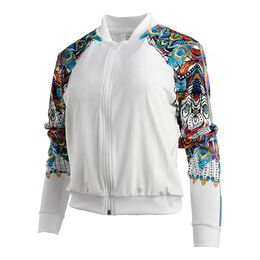 Illusion Velvet Bomber Jacket Women