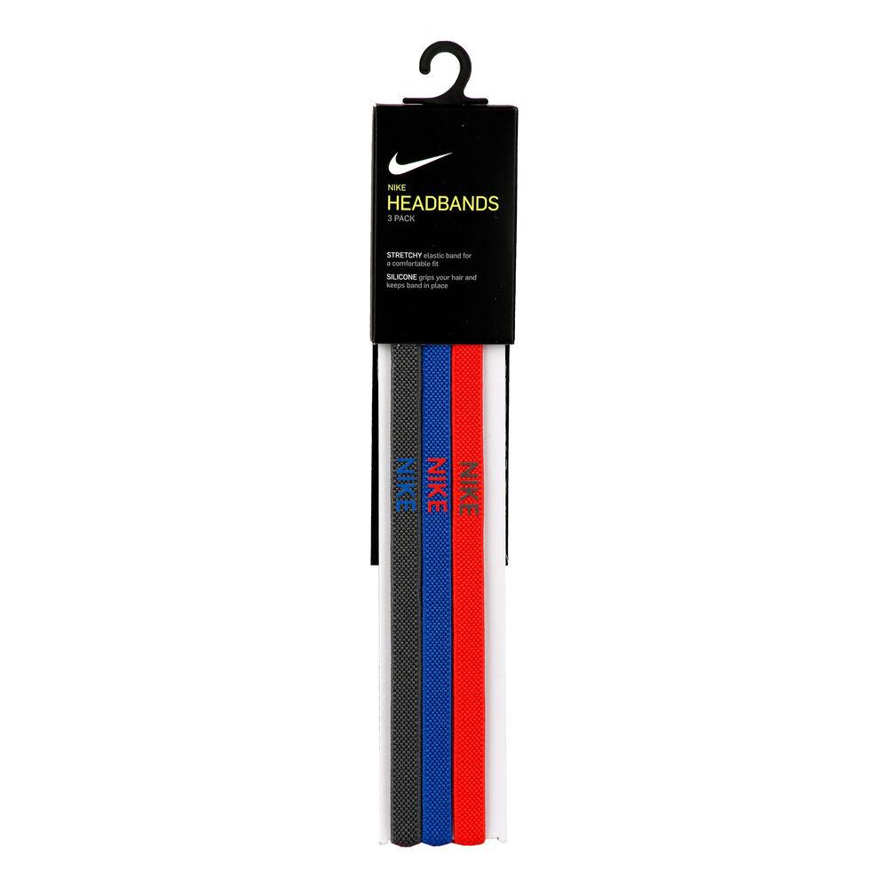 Nike Elastic Haarband 3er Pack Haarband Größe: nosize 9318-4-646