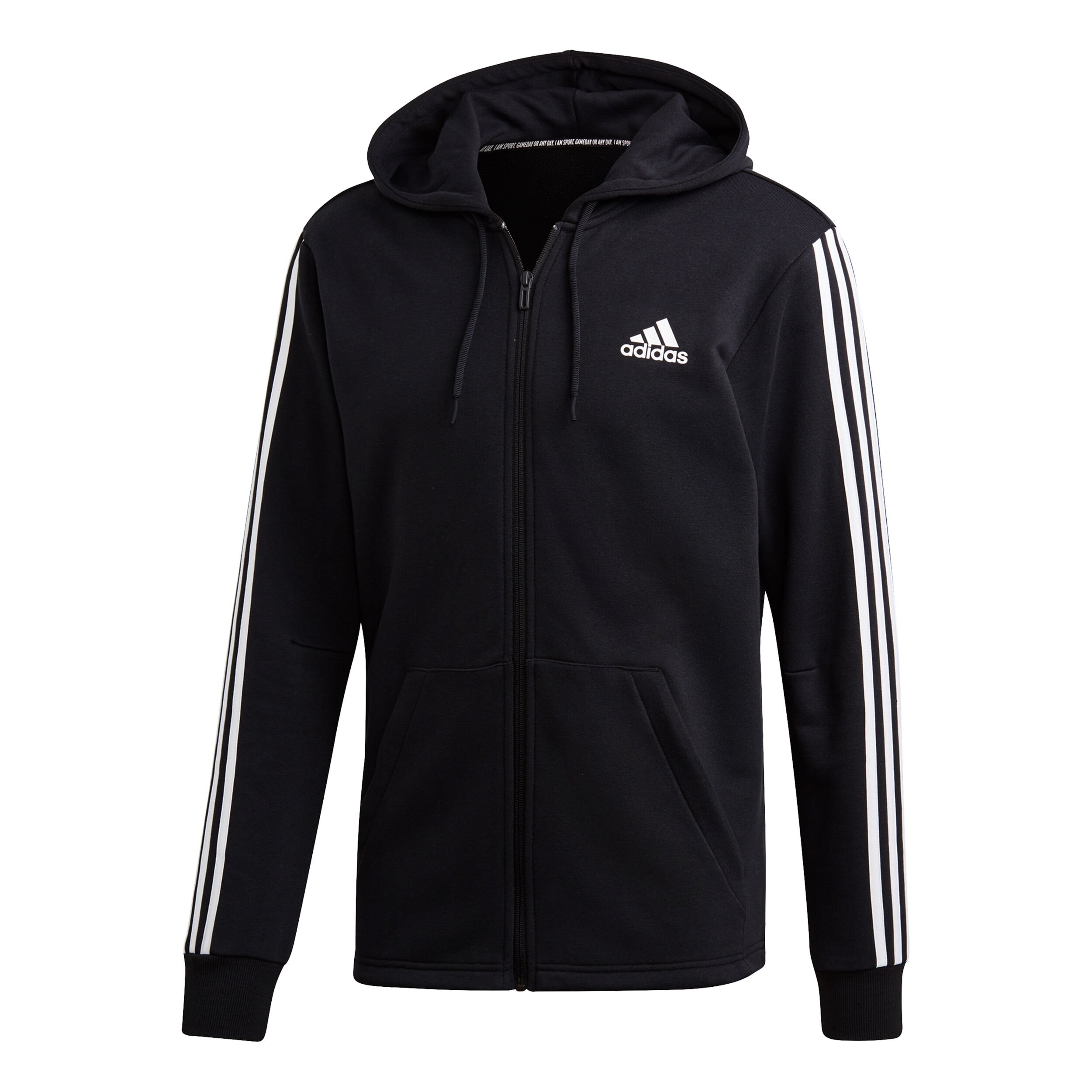 adidas Must Have 3 Stripes French Terry Full Zip Sweatjacke