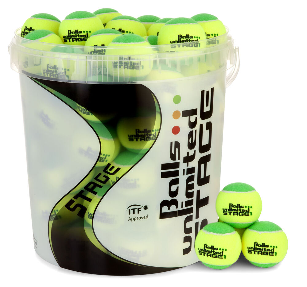 Balls Unlimited Stage 1 60er Eimer Play and Stay Ball Größe: nosize B-TOBUST160ER
