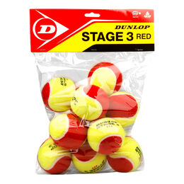 Mini Tennis Stage 3 Red, 12er