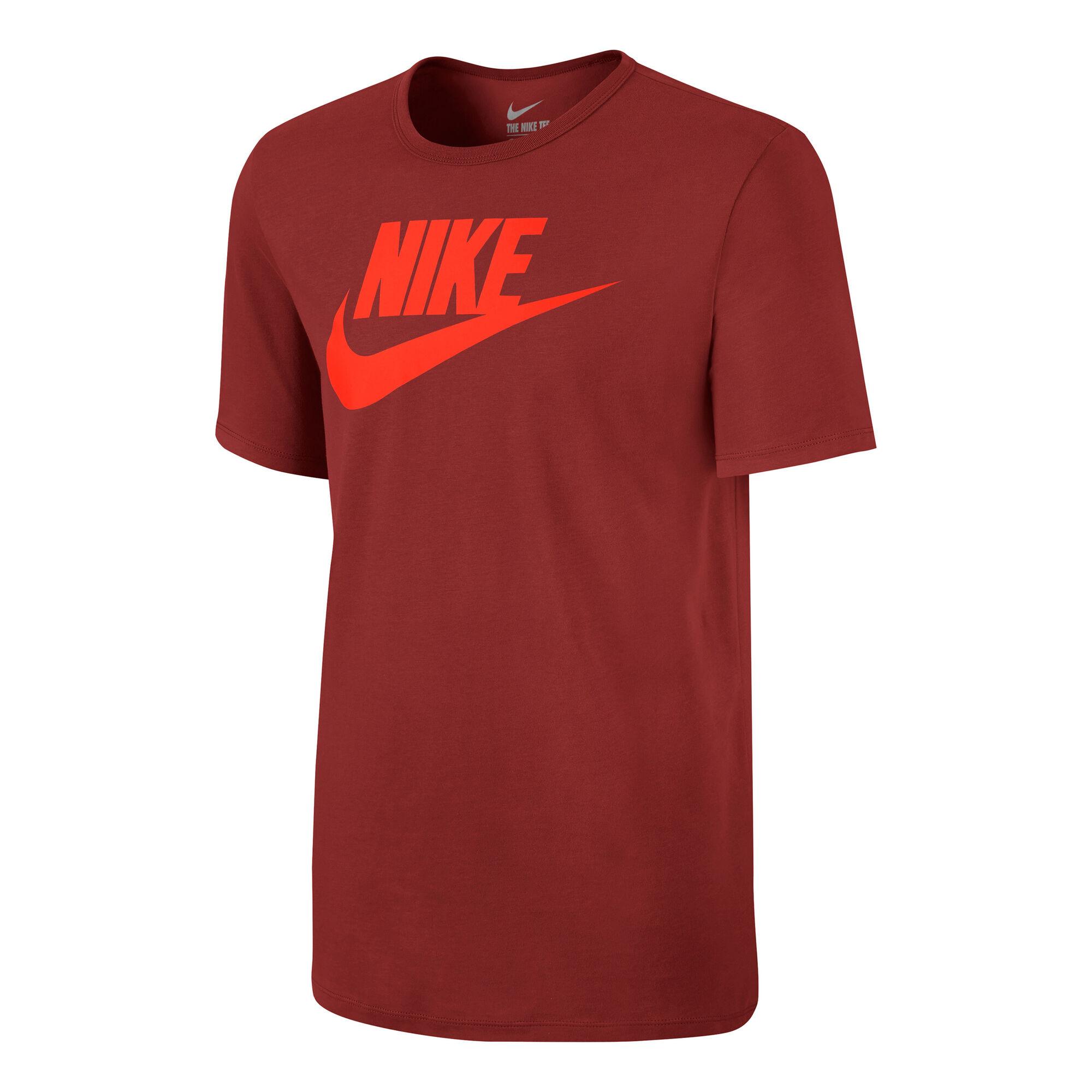 uk availability 2795a 67a49 Nike Sportswear Futura Icon T-Shirt Herren - Dunkelrot, Orange ...