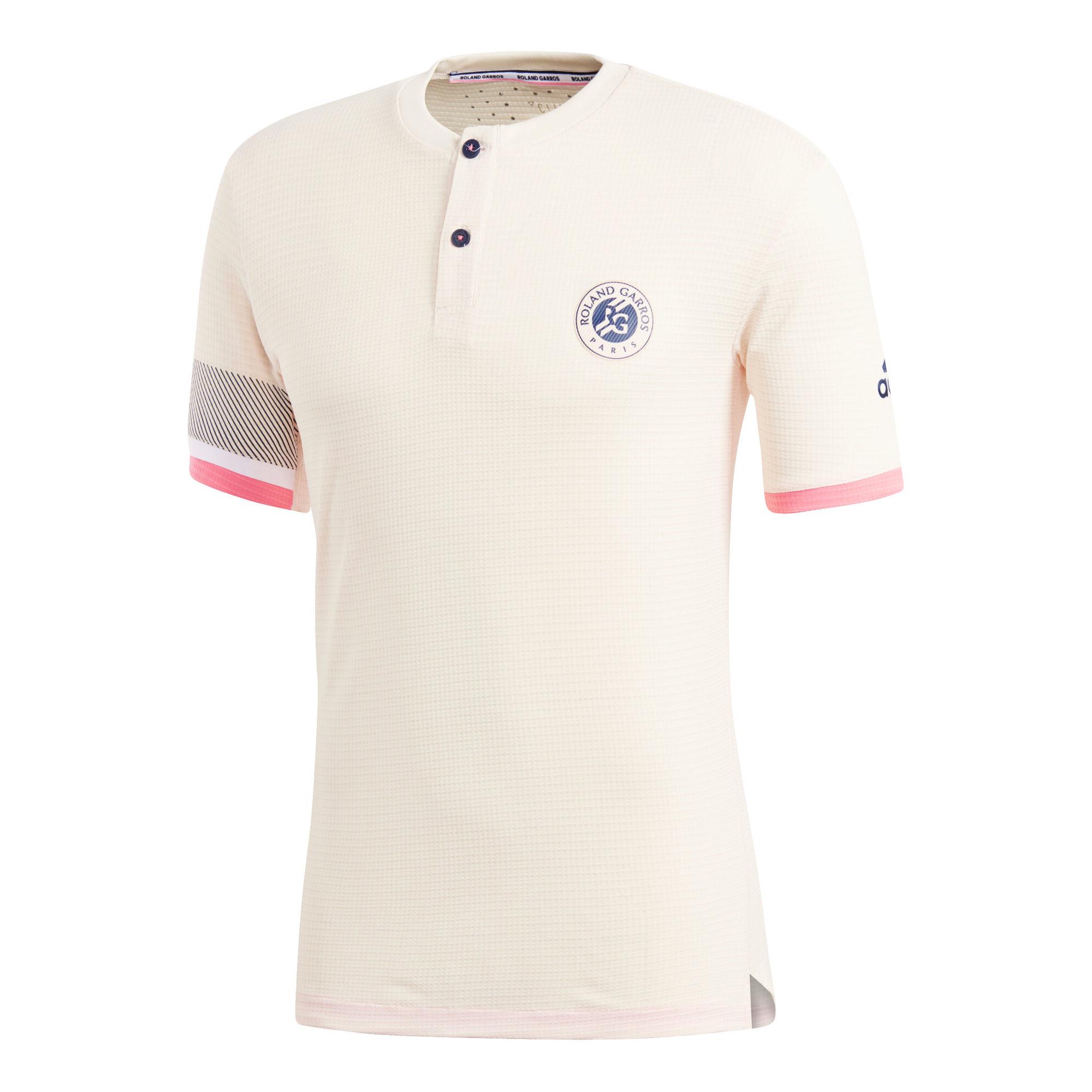 official photos 79d47 e5d3d adidas Roland Garros Climachill T-Shirt Herren - Beige ...