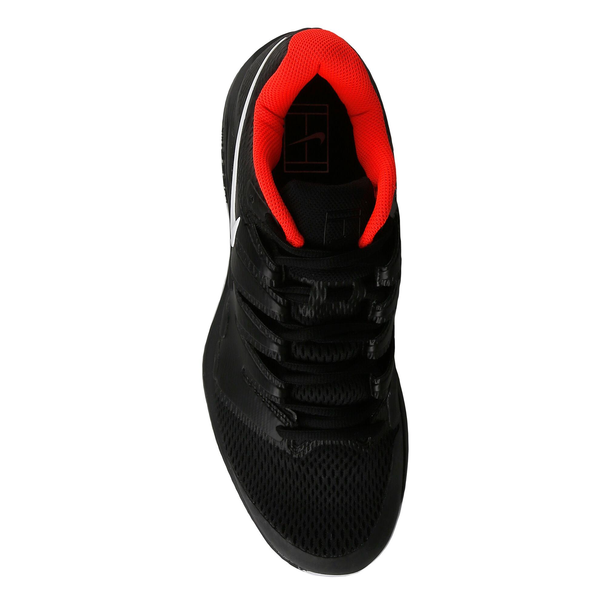 special sales discount exclusive deals Nike Air Zoom Vapor X HC Allcourtschuh Herren - Schwarz, Rot ...