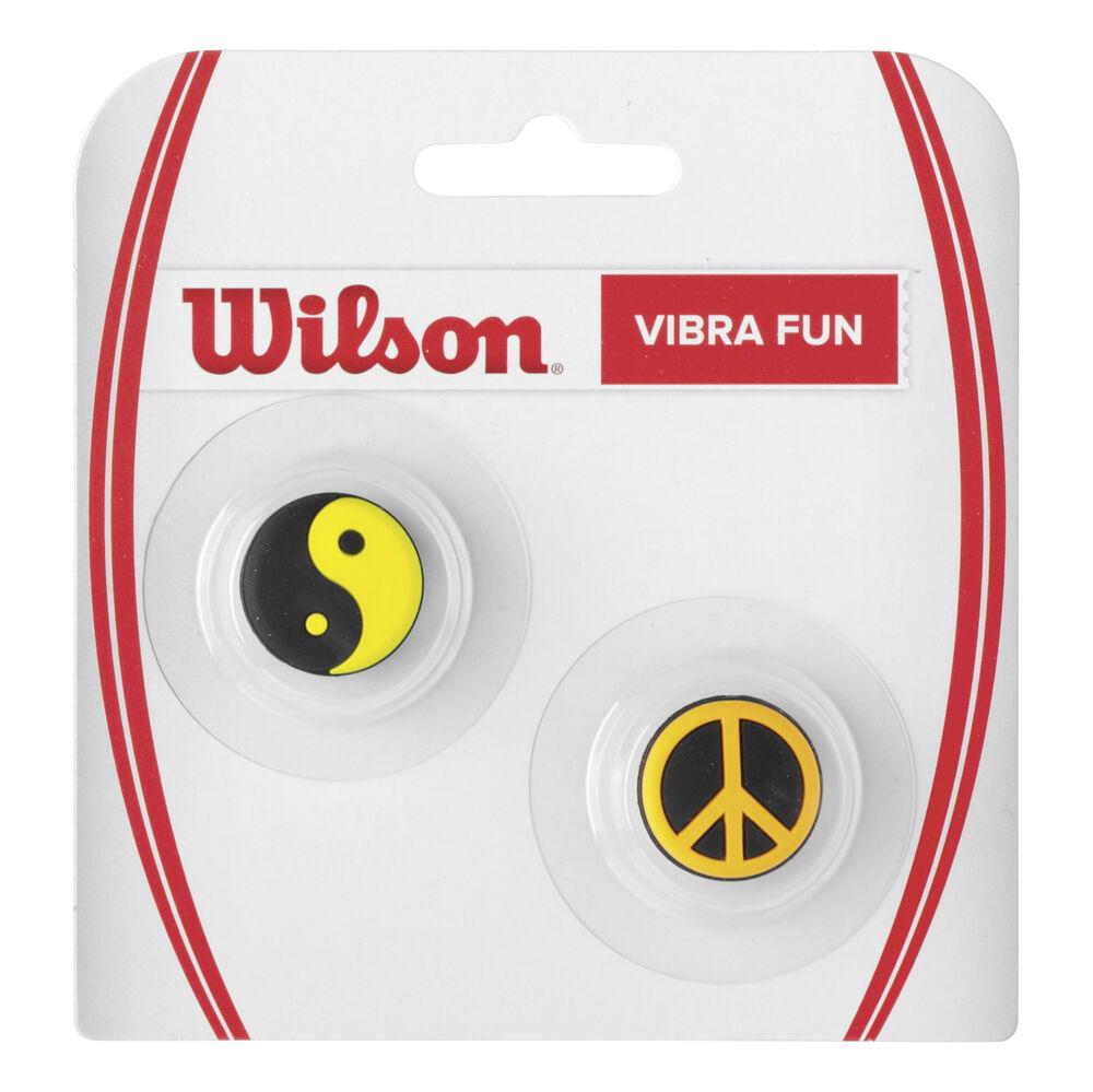 Wilson Ying Yang + Peace Dämpfer 2er Pack Dämpfer Größe: nosize WRZ537200