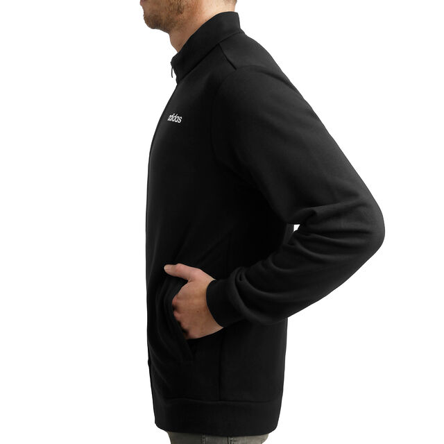 Essentials Linear Track Top French Terry Men