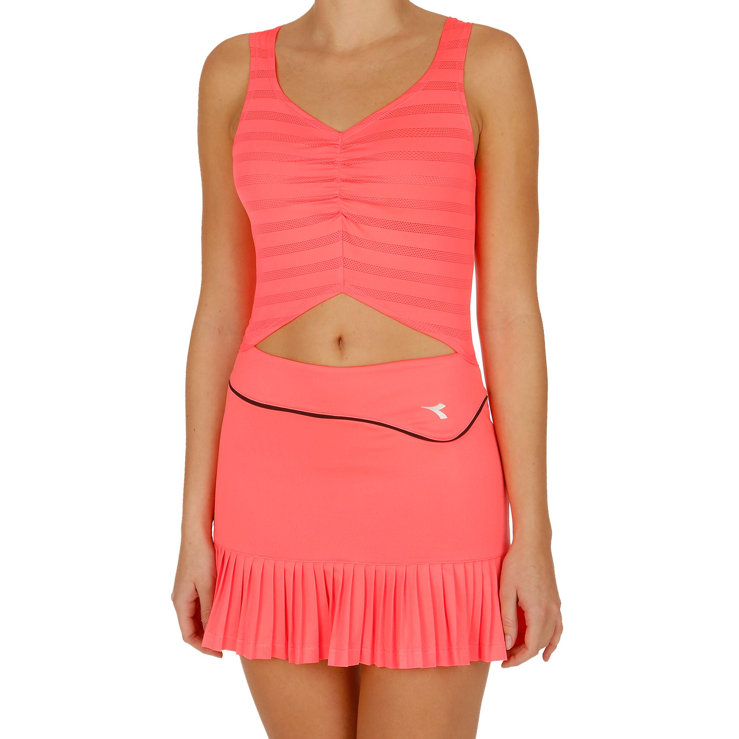 Diadora KaufenTennis Kleid Online KoralleSchwarz Clay Damen 1JTFKcul3