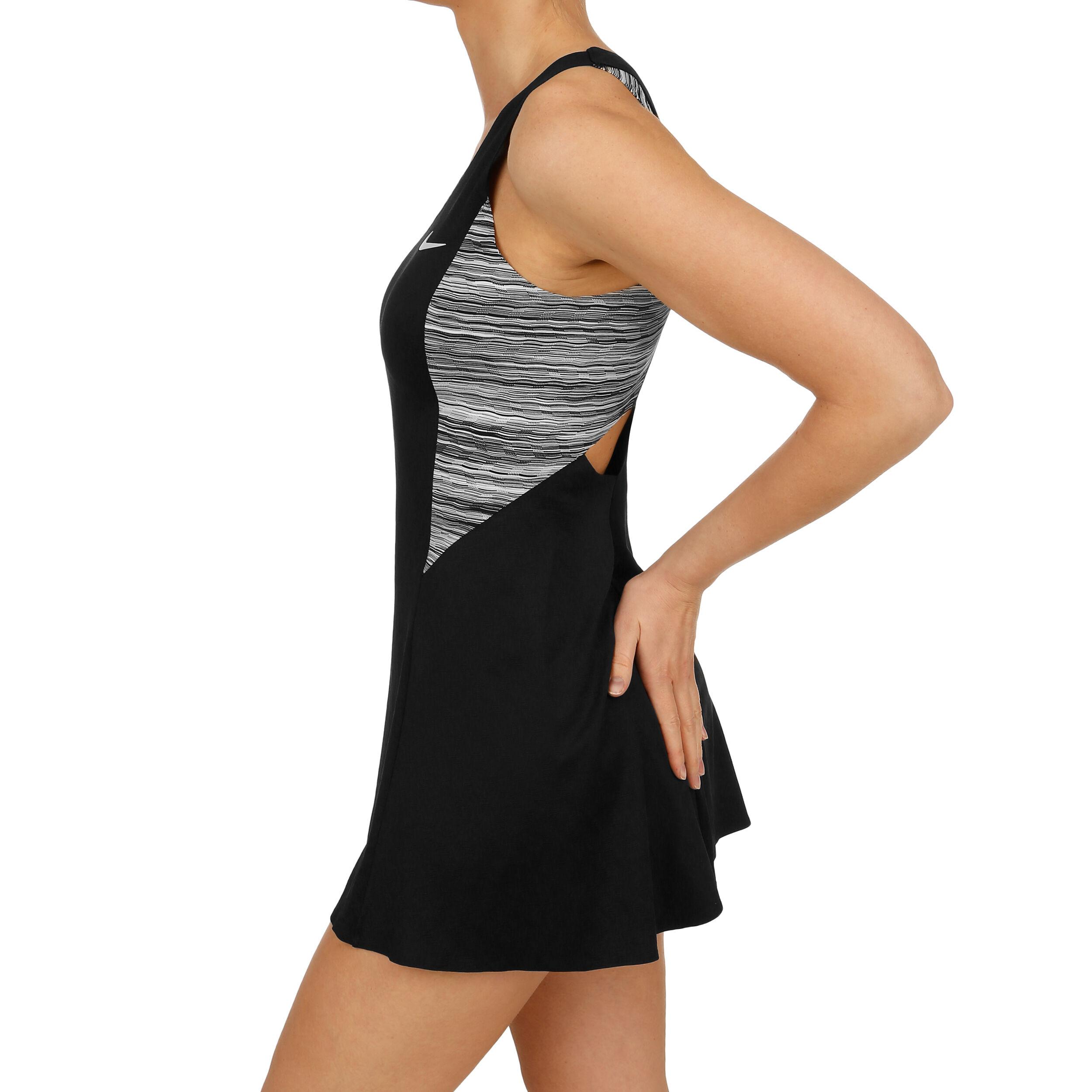 Kaufen Court Online Schwarzhellgrau Kleid Dry Damen Nike