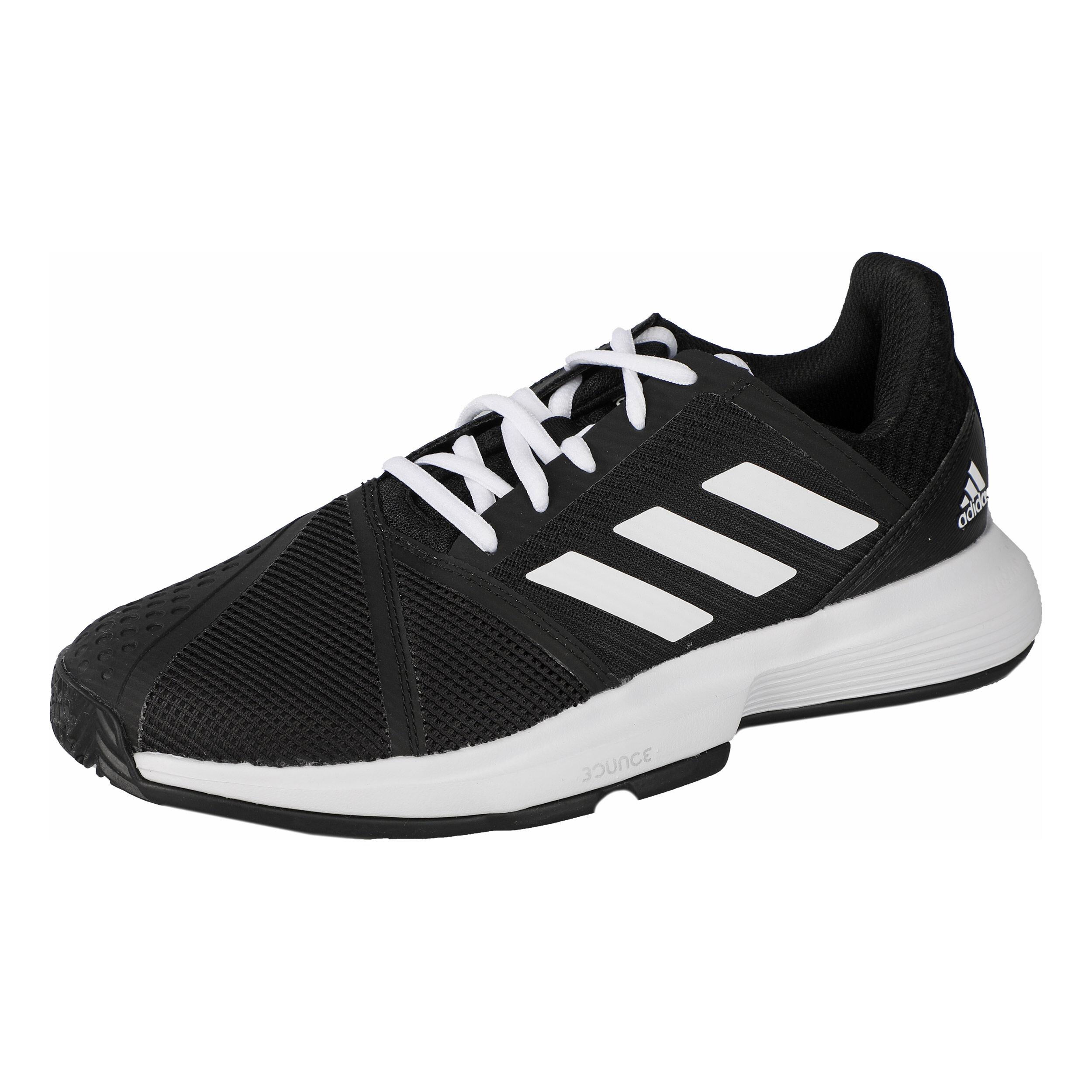adidas Court Jam Bounce Allcourtschuh Damen - Schwarz, Weiß ...